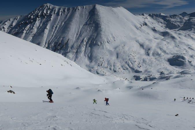 Ski touring Vihren Valley