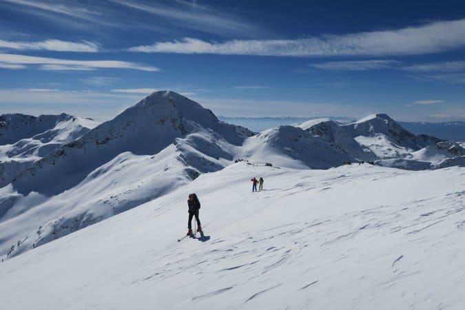 Ski touring Vihren Valley