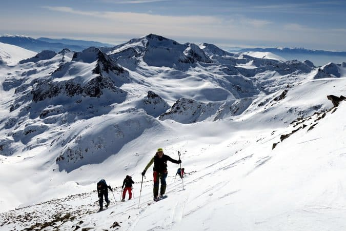 Ski Touring Bezbog, Pirin Mountains