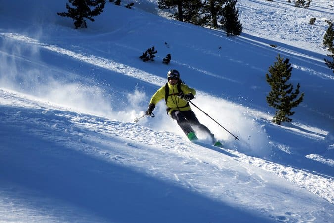 Ski touirng in Northern Pirin