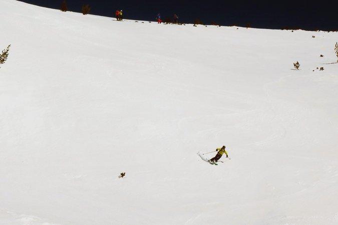 Skiing Semkovo, Rila Mtns