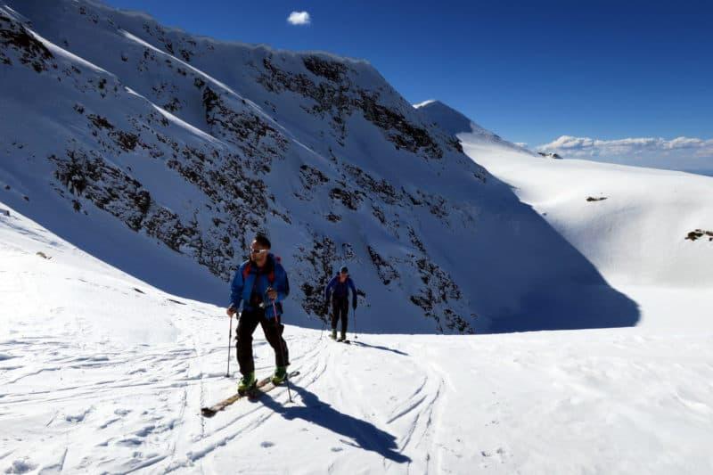 Ski touring Rila Lakes