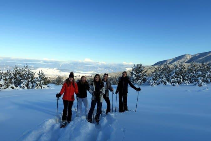 Snowshoeing Bansko