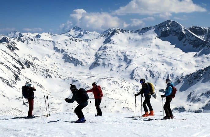 Ski touring Vihren