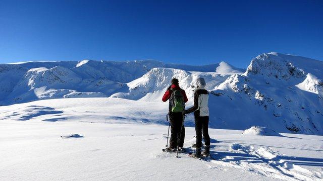 Snowshoeing Rila Lakes