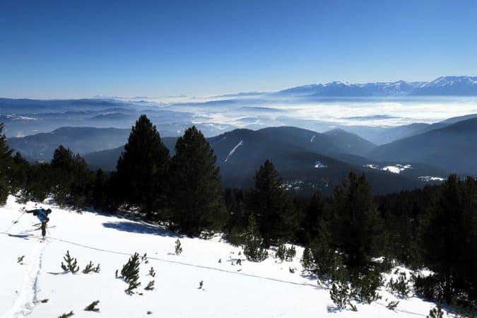 Ski Touring Semkovo, Rila Mtns