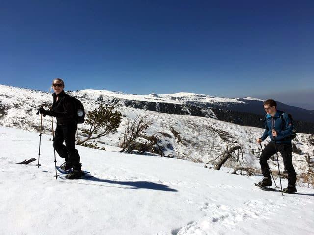 Snowshoeing Malyovitsa