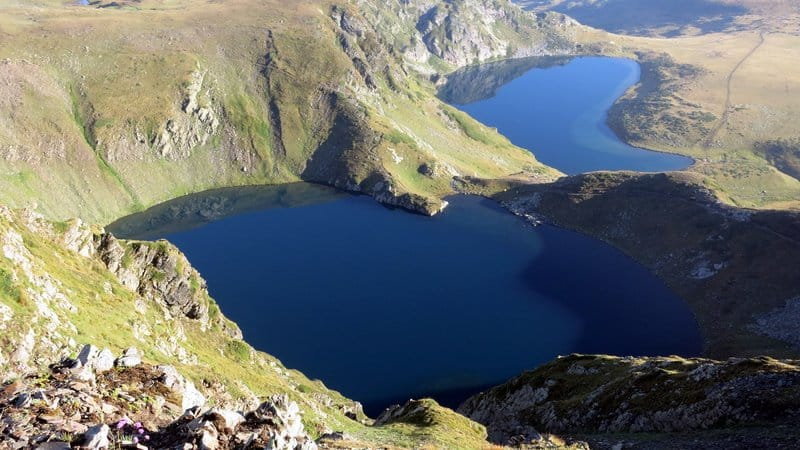 The Eye Lake & The Kidney Lake