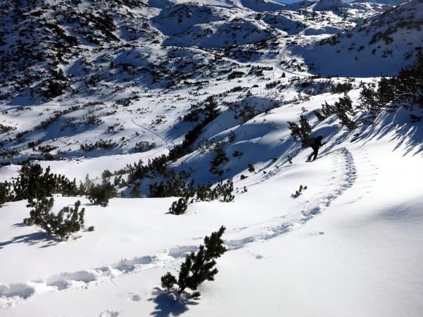 Snowshoeing Bunderitsa Valley