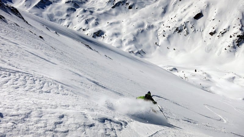 Backcountry skiing Bansko