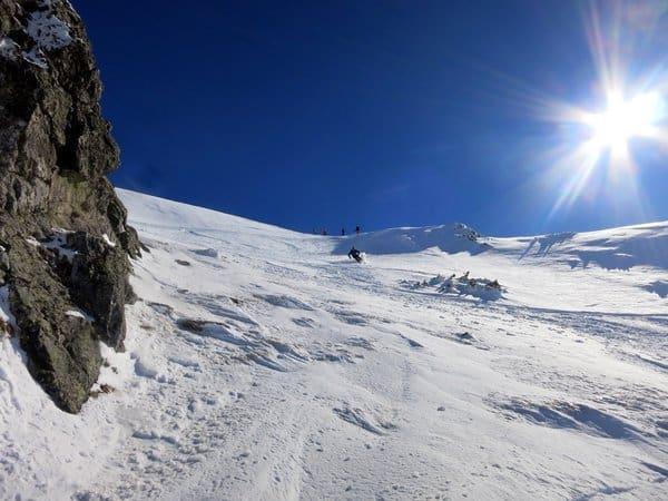 Skiing in Pirin