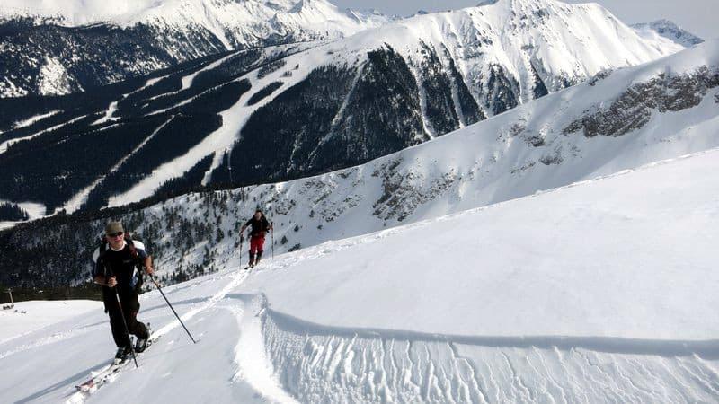 Ski touring Cherna Mogila