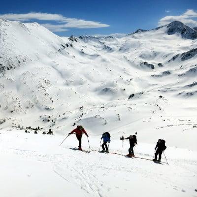 Ski touring Hvoynati
