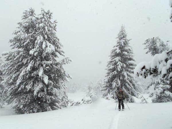 Snowshoeing Rila Semkovo