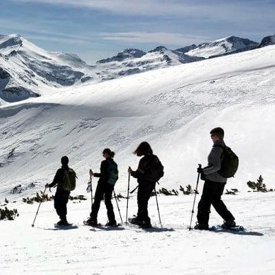 Snowshoeing Bezbog