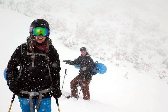 Ski Touring Bezbog