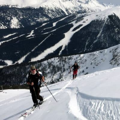 Ski touring in Pirin Mountains