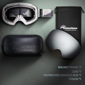 Outdoor master ski googles
