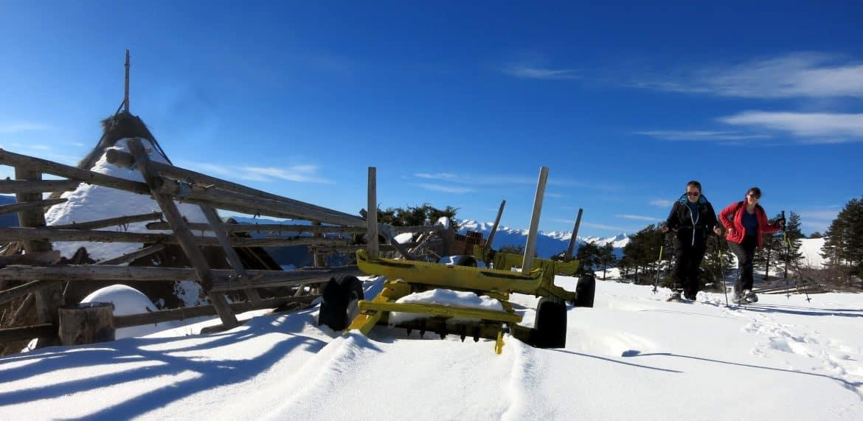 Орцево снегоходки