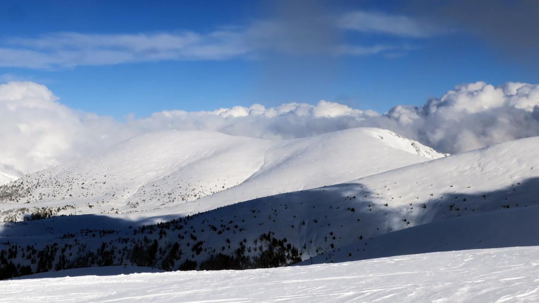 Снегоходки на Картала
